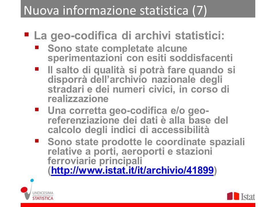 Nuova informazione statistica (7)