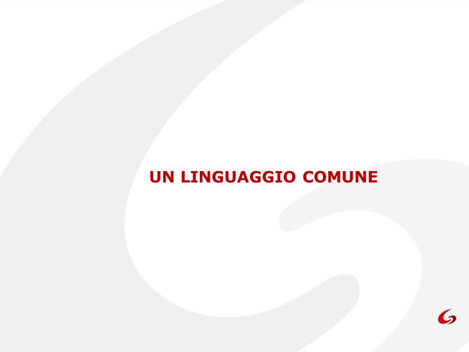 UN LINGUAGGIO COMUNE