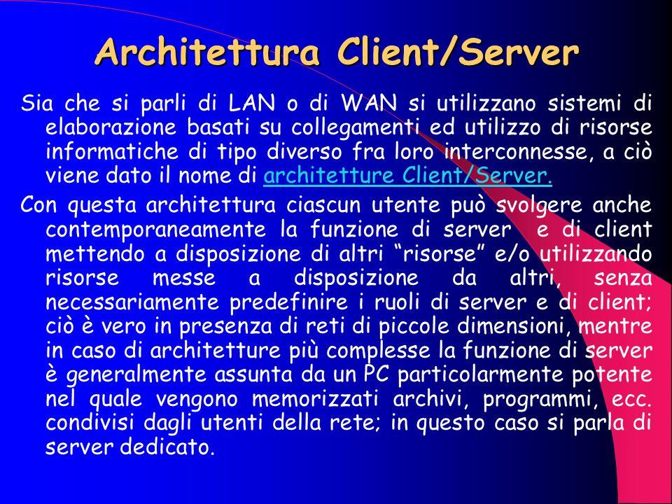 Architettura Client/Server