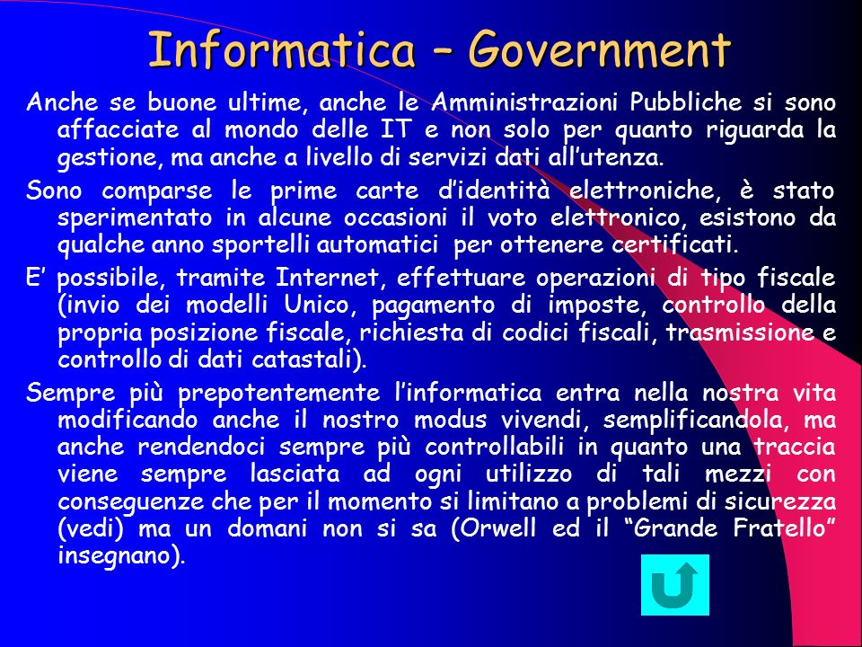 Informatica – Government