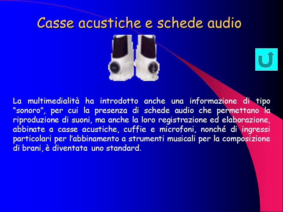 Casse acustiche e schede audio