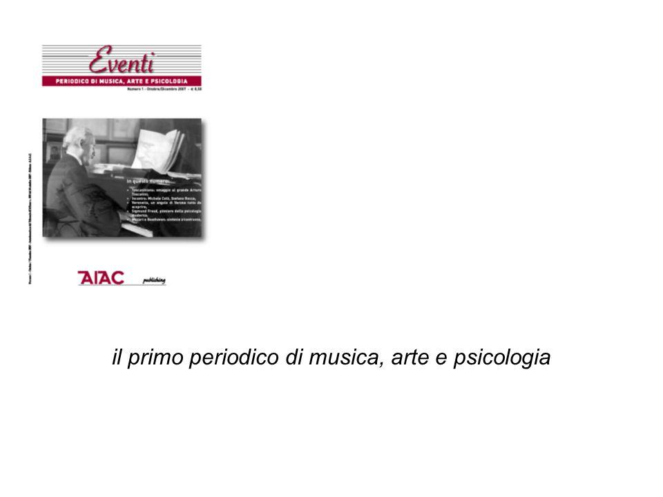 il primo periodico di musica, arte e psicologia