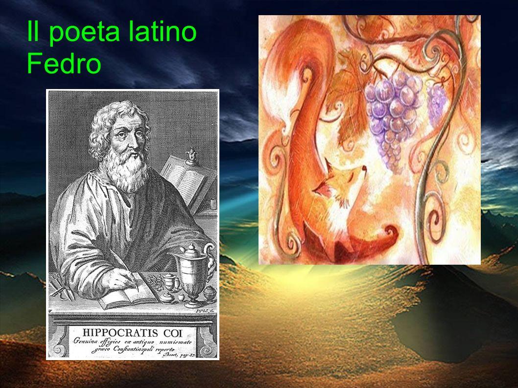 Il poeta latino Fedro