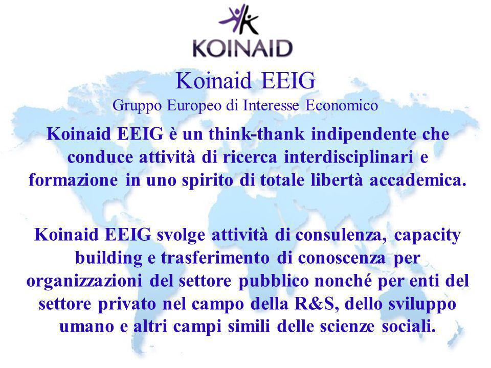Koinaid EEIG Gruppo Europeo di Interesse Economico