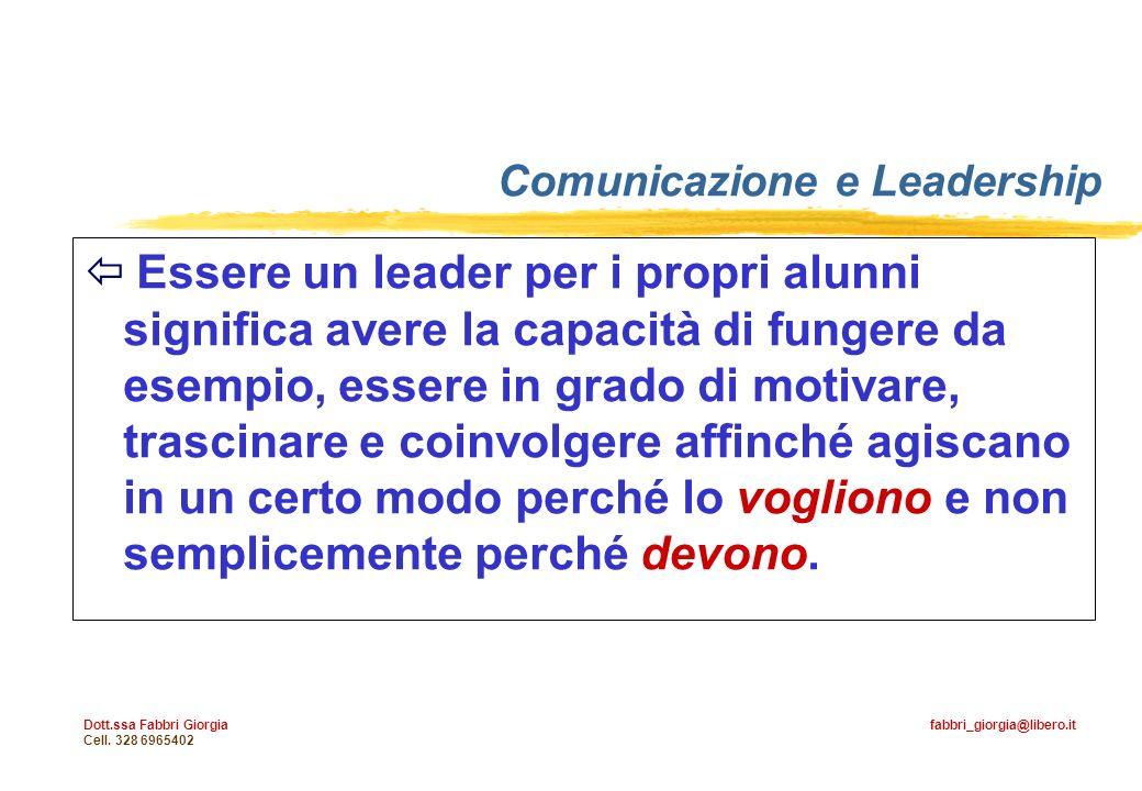 Comunicazione e Leadership