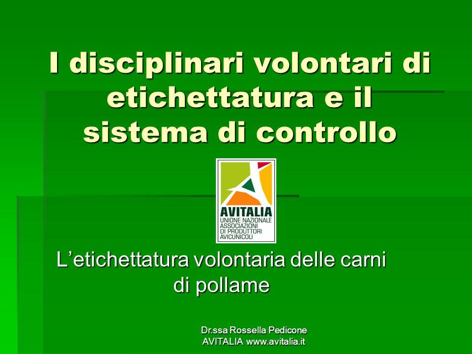 I disciplinari volontari di etichettatura e il sistema di controllo