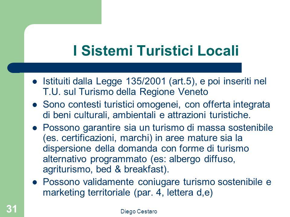 I Sistemi Turistici Locali