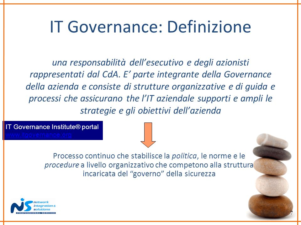 IT Governance: Definizione