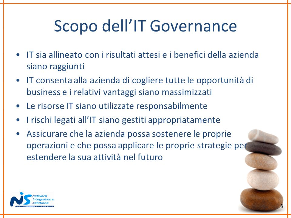 Scopo dell'IT Governance