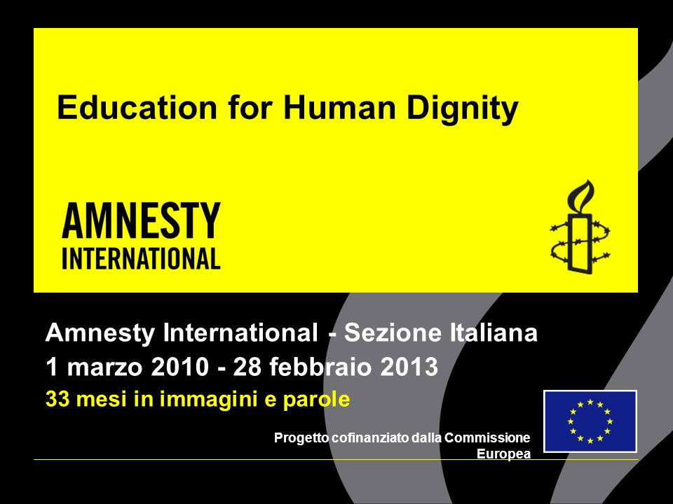 Education for Human Dignity