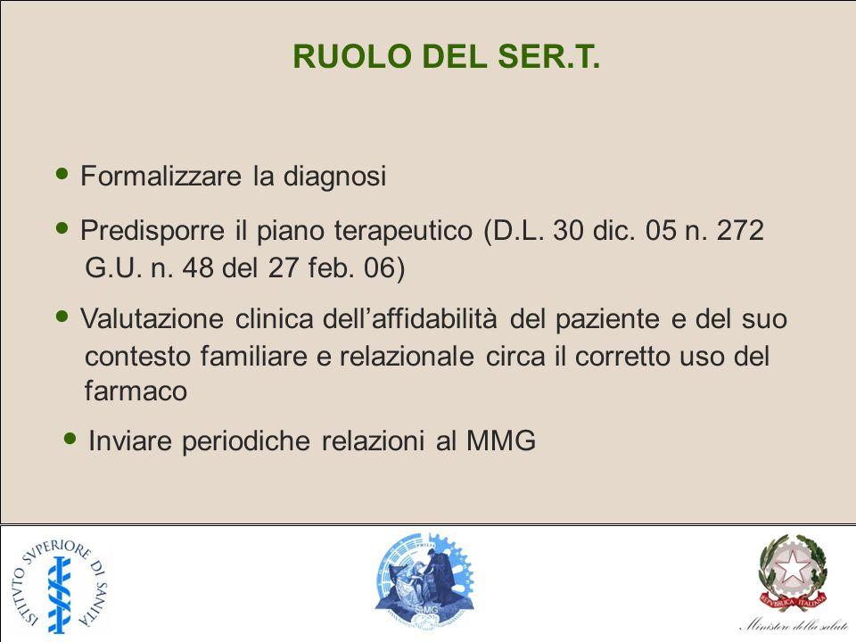 • Formalizzare la diagnosi