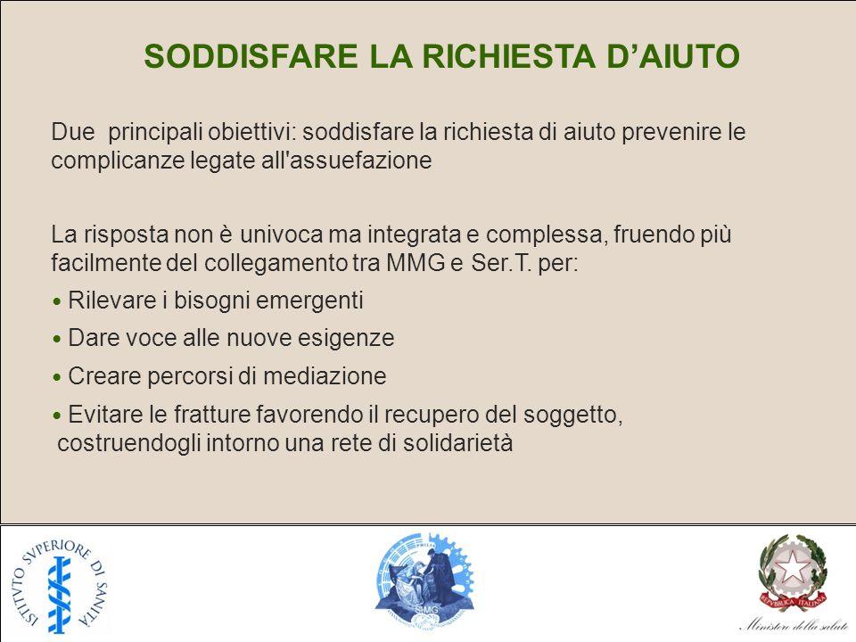 SODDISFARE LA RICHIESTA D'AIUTO
