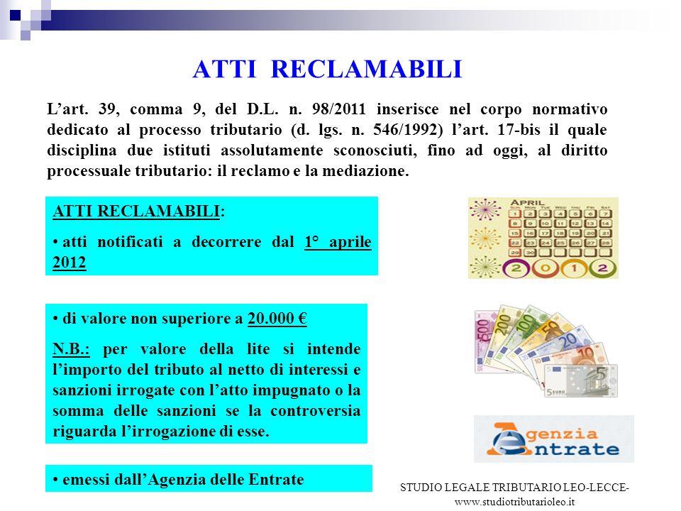 STUDIO LEGALE TRIBUTARIO LEO-LECCE-www.studiotributarioleo.it