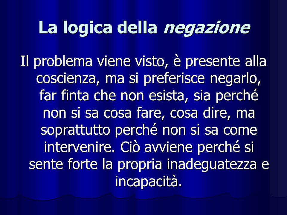 La logica della negazione