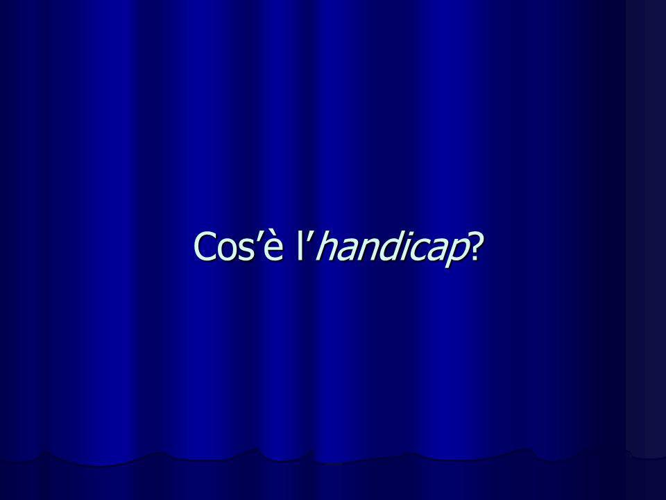 Cos'è l'handicap