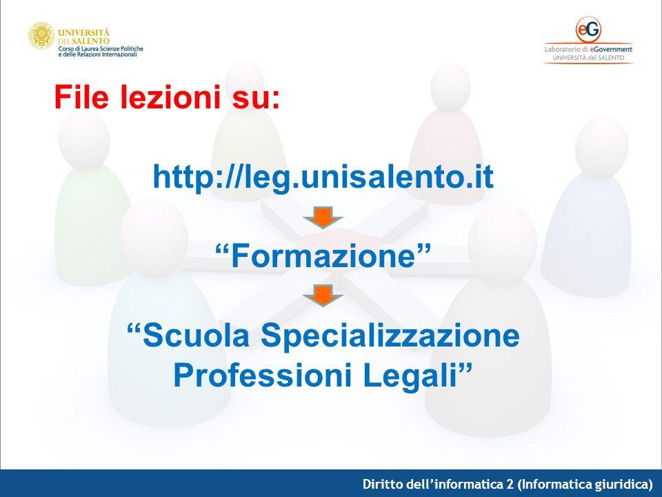 Scuola Specializzazione Professioni Legali