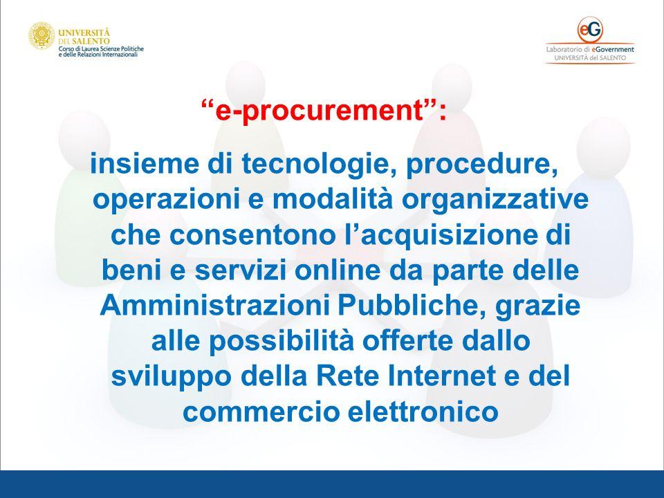 e-procurement :