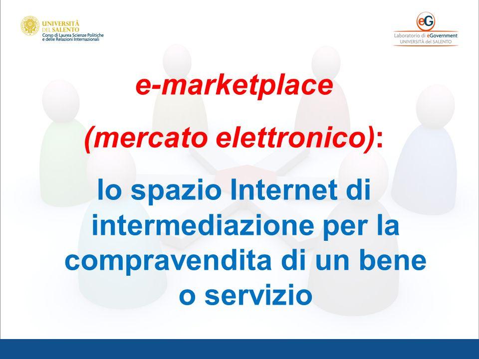 (mercato elettronico):