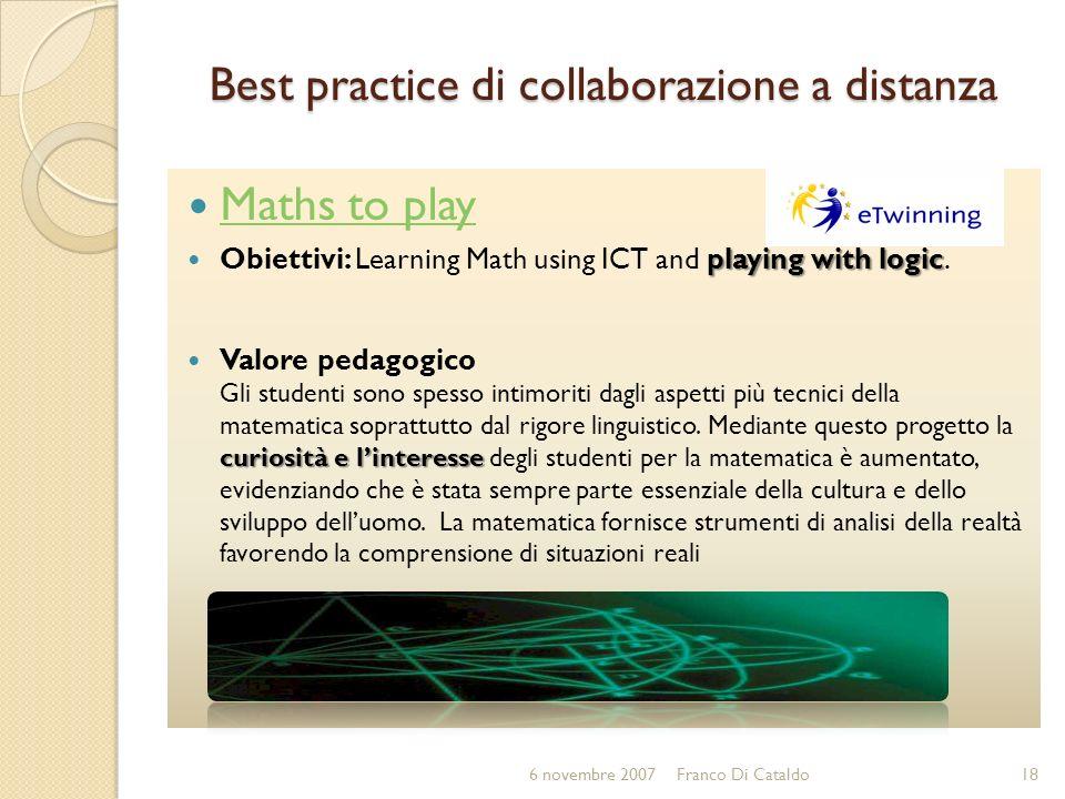 Best practice di collaborazione a distanza
