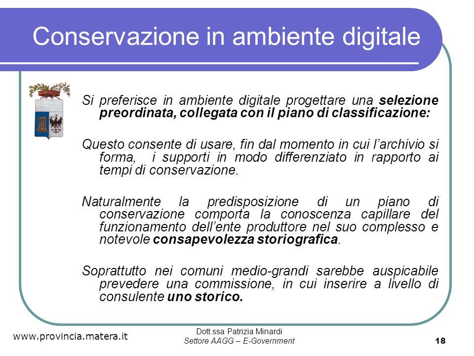 Conservazione in ambiente digitale