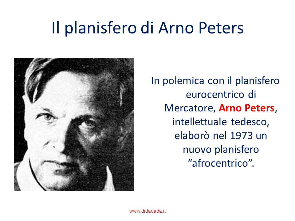 Il planisfero di Arno Peters