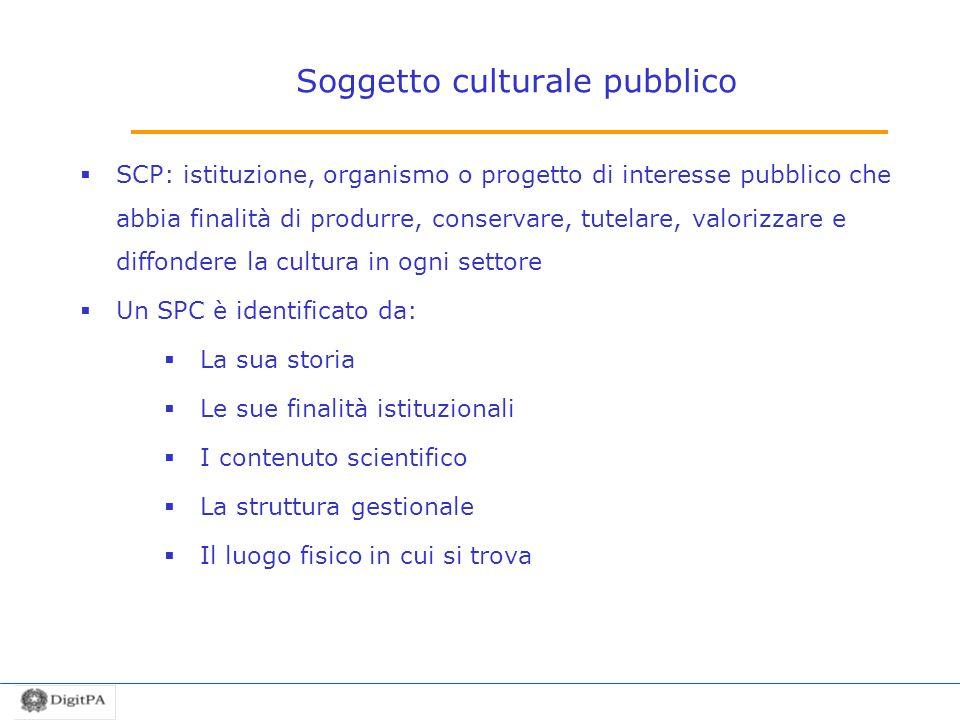 Soggetto culturale pubblico