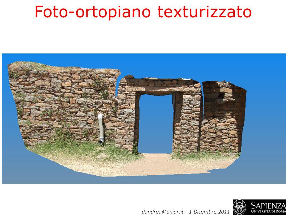 Foto-ortopiano texturizzato