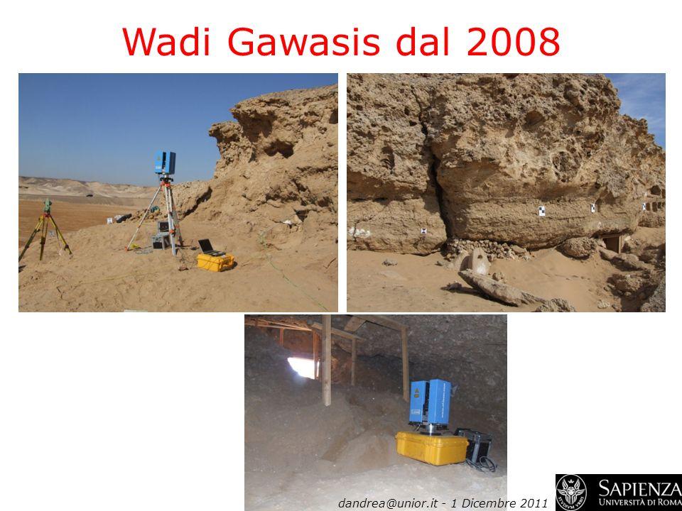 Wadi Gawasis dal 2008 dandrea@unior.it - 1 Dicembre 2011