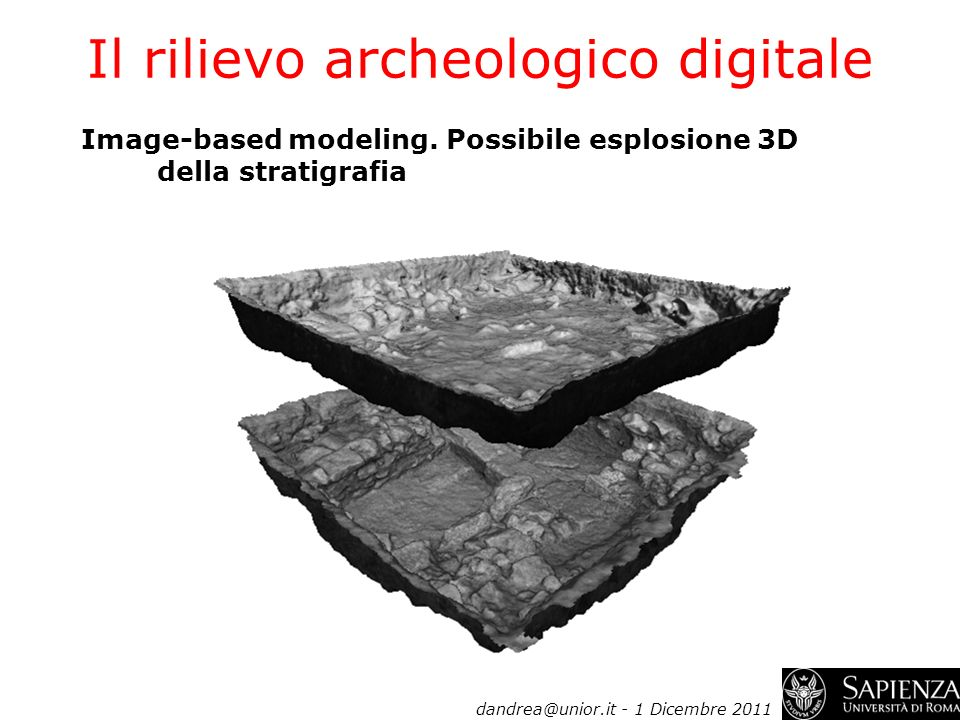 Il rilievo archeologico digitale