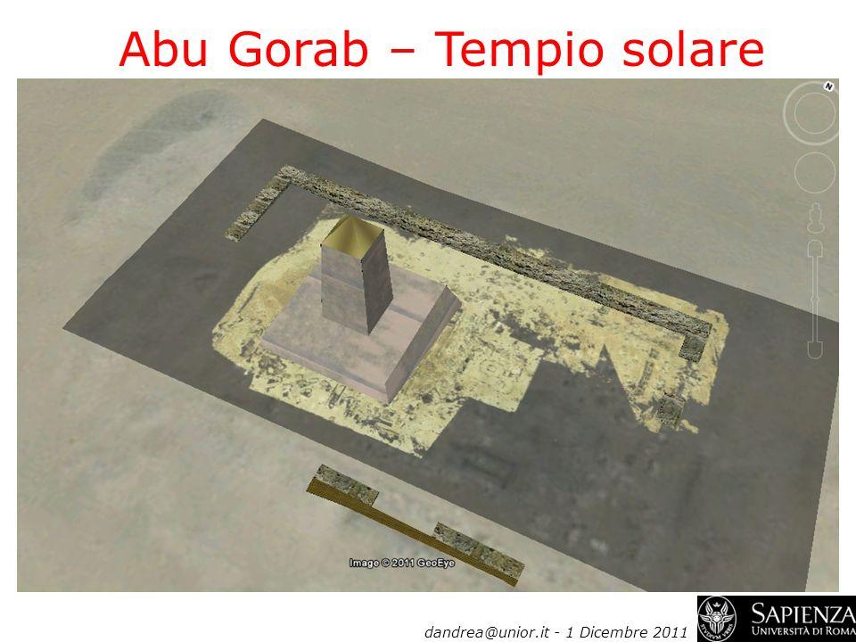 Abu Gorab – Tempio solare
