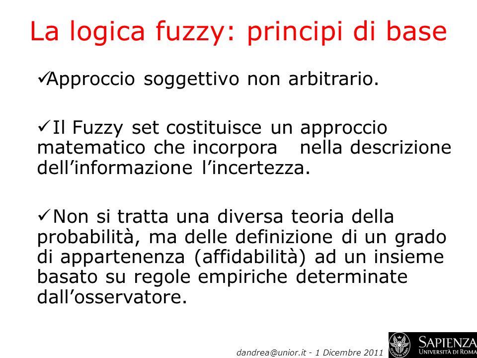 La logica fuzzy: principi di base