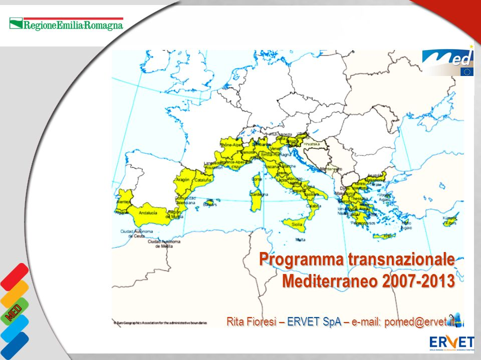Programma transnazionale Mediterraneo 2007-2013