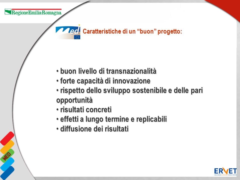 buon livello di transnazionalità forte capacità di innovazione
