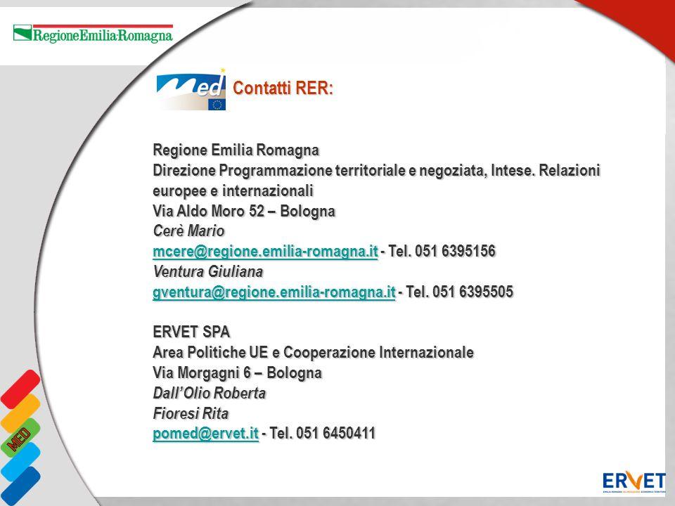 Contatti RER: