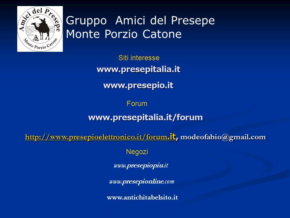http://www.presepioelettronico.it/forum.it, modeofabio@gmail.com