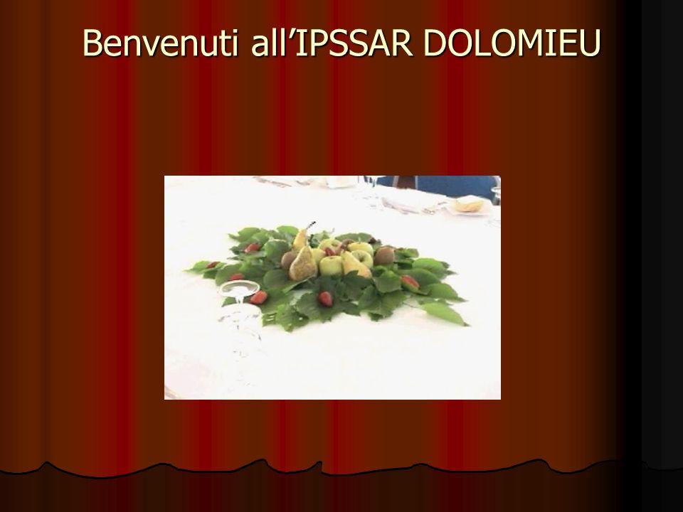 Benvenuti all'IPSSAR DOLOMIEU