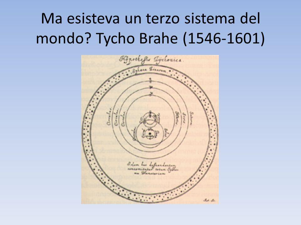Ma esisteva un terzo sistema del mondo Tycho Brahe (1546-1601)