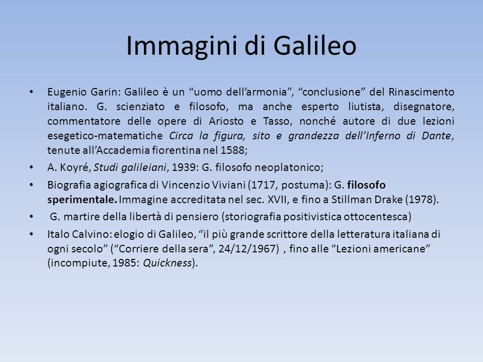 Immagini di Galileo