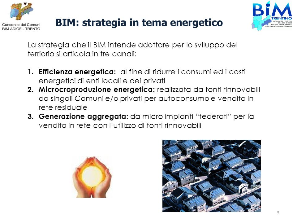 BIM: strategia in tema energetico