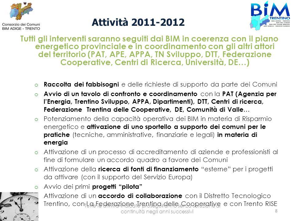 Attività 2011-2012