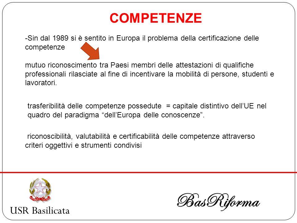 BasRiforma COMPETENZE USR Basilicata