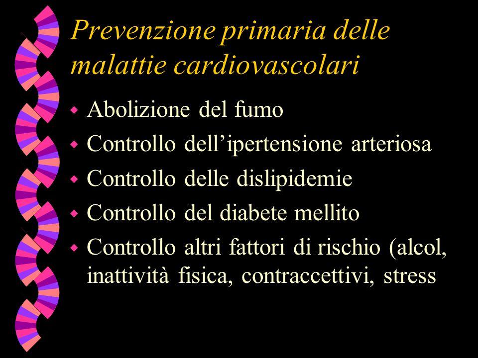 Prevenzione primaria delle malattie cardiovascolari