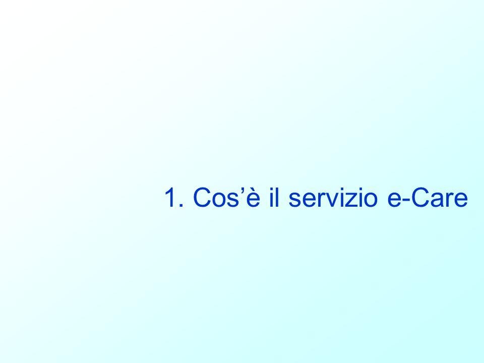 1. Cos'è il servizio e-Care