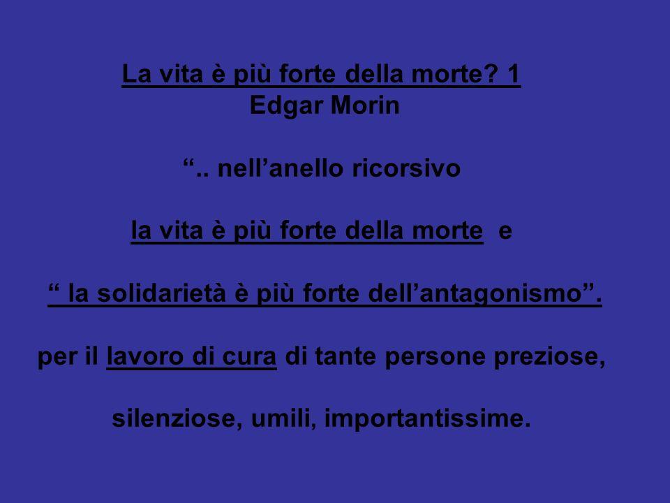 La vita è più forte della morte 1 Edgar Morin