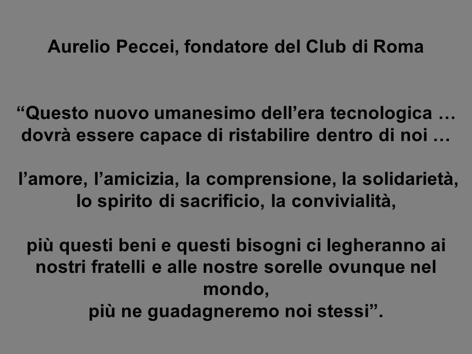 Aurelio Peccei, fondatore del Club di Roma