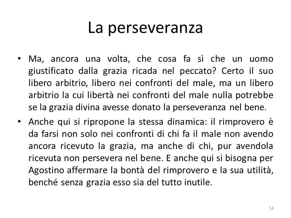 La perseveranza