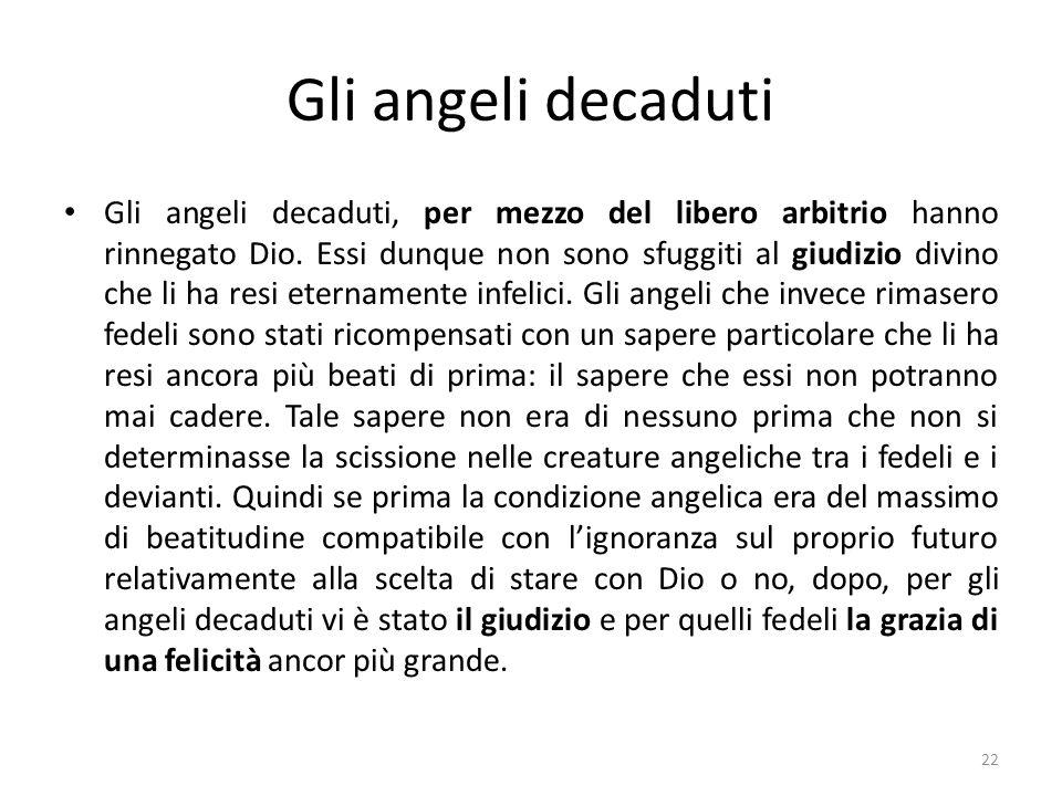 Gli angeli decaduti