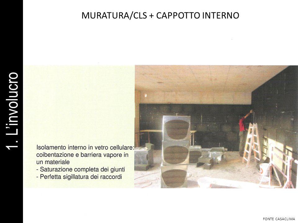 MURATURA/CLS + CAPPOTTO INTERNO