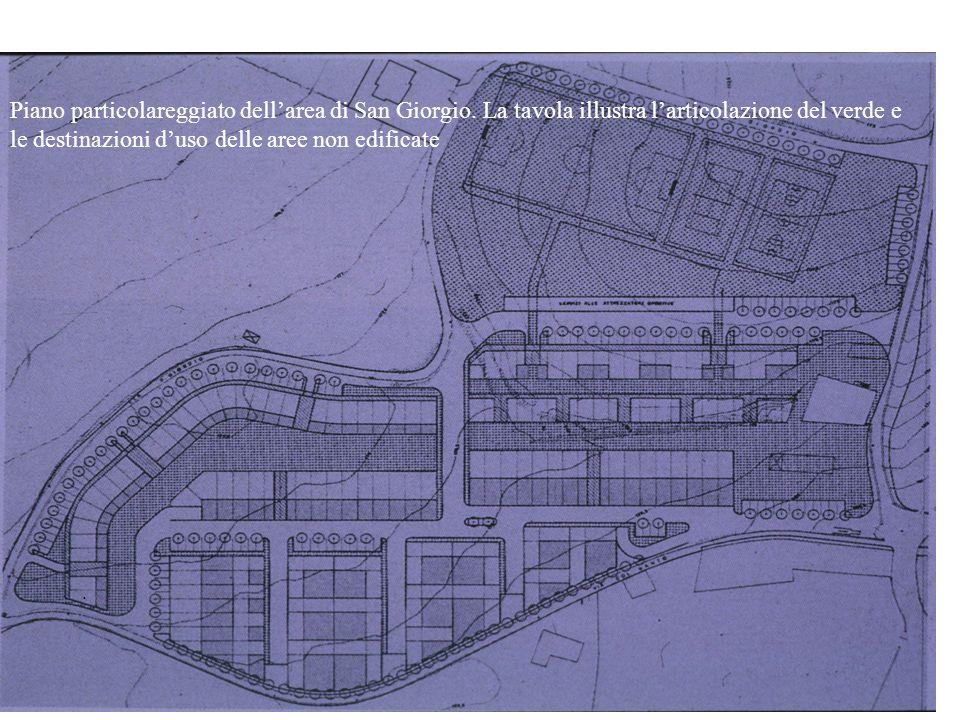 Piano particolareggiato dell'area di San Giorgio