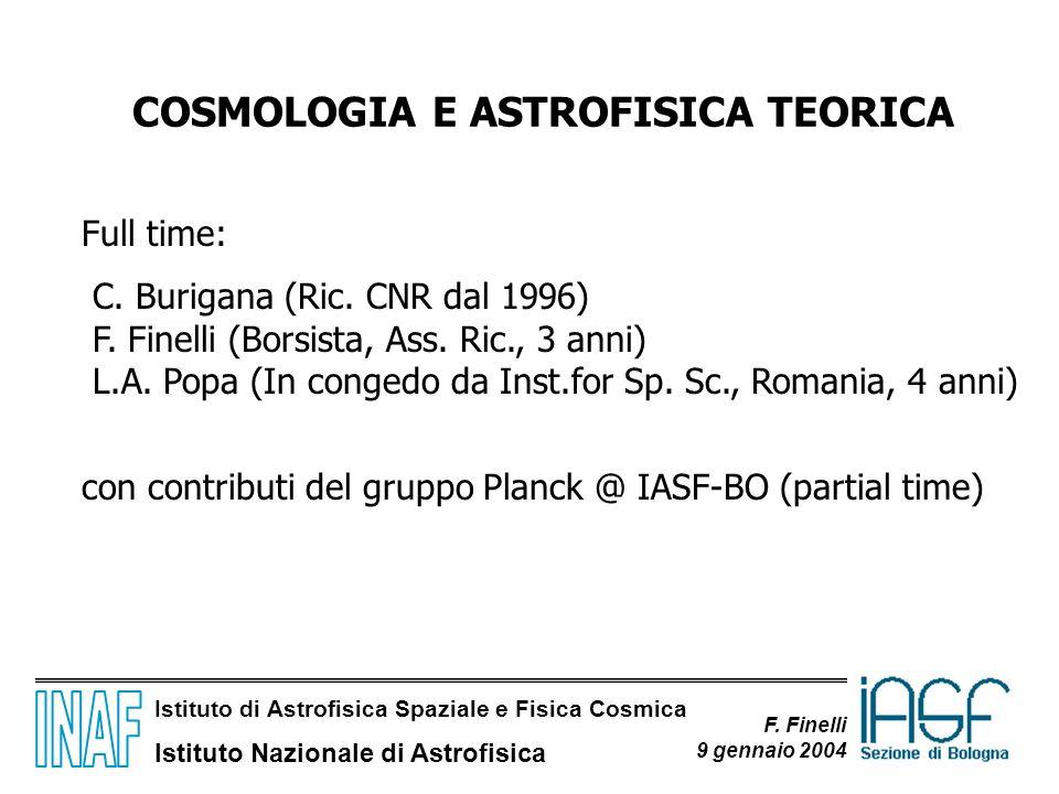 COSMOLOGIA E ASTROFISICA TEORICA